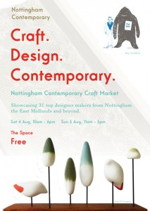 Nottingham Contemporary Craft Market