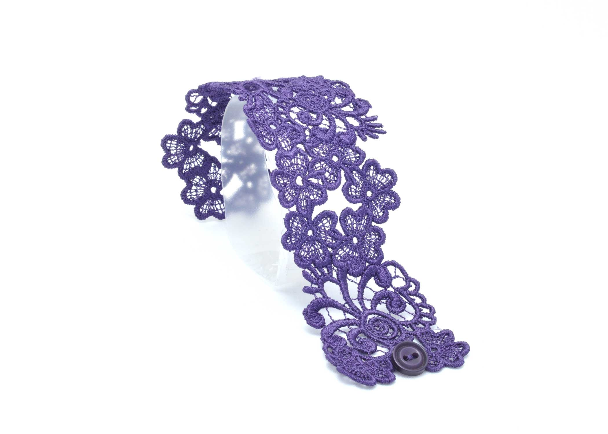 Lace Bracelet Lacelet C1 Purple