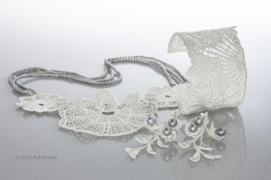 Madama Butterfly silver lace collection