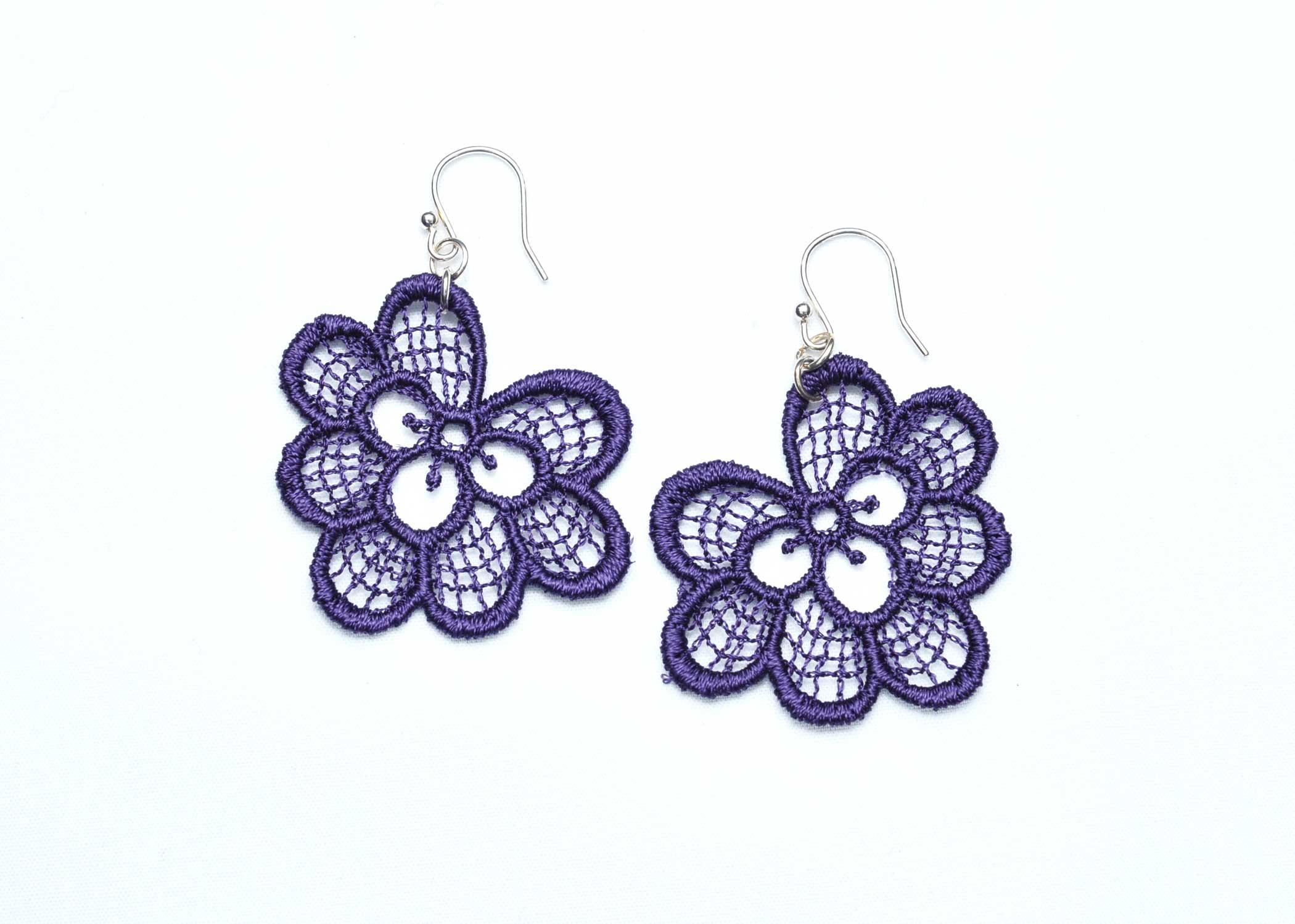 Lace-Earring-E3-Purple