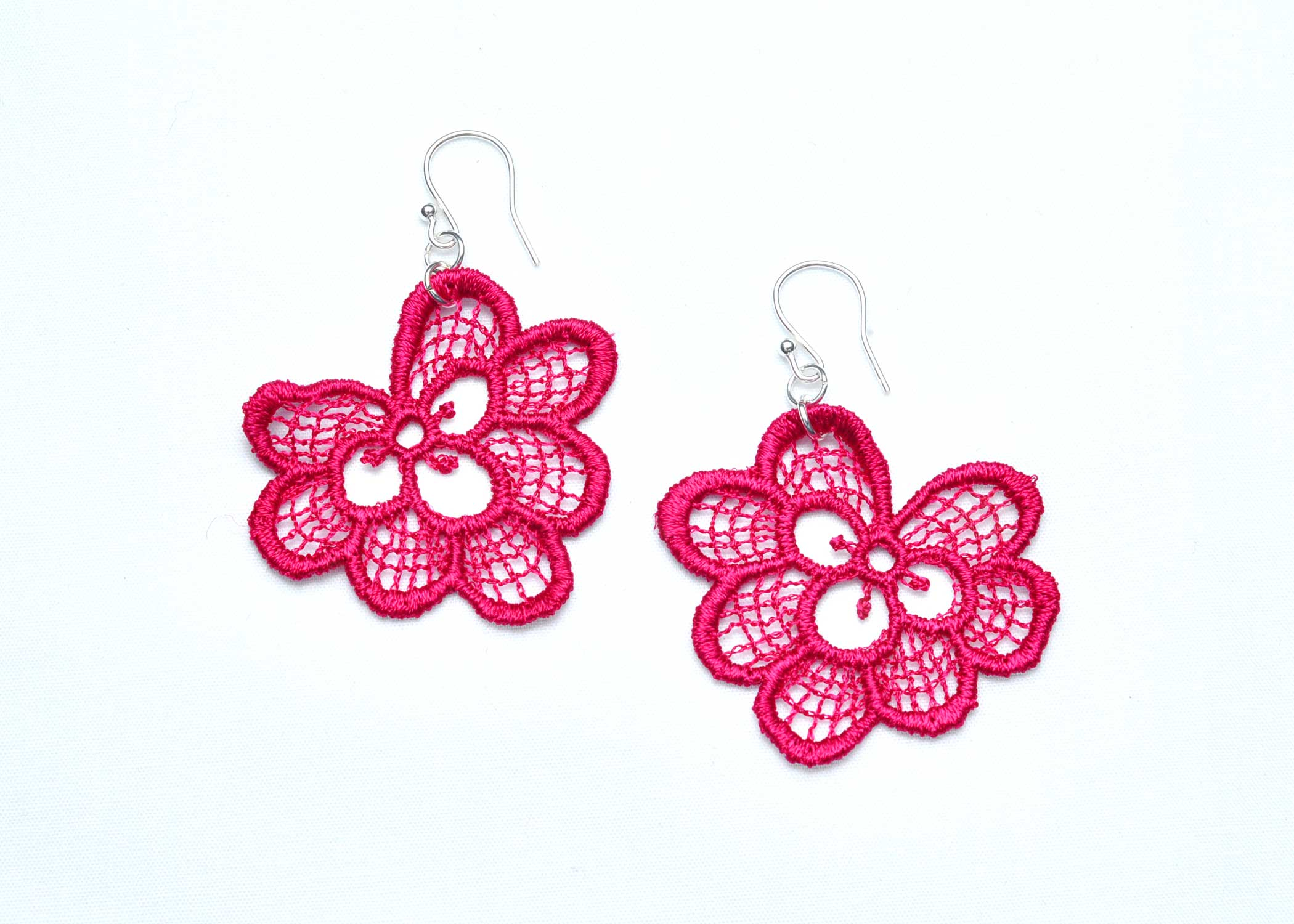 Lace-Earring-E3-Raspberry
