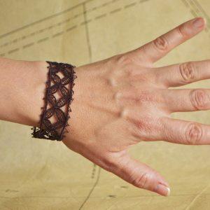 Castle Gates Lacelet Lace Bracelet C3