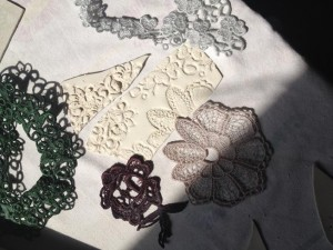 a Creative Take on lace