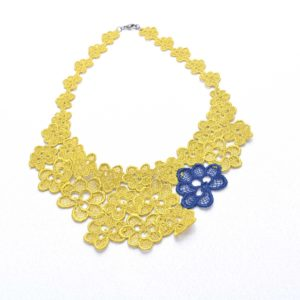 NL8 Neck Lace Lime Navy