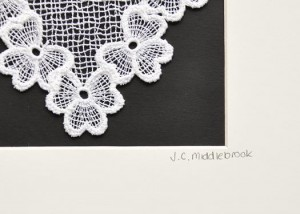 Mounted Lace detail