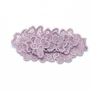 Oval Trefoil Lace Brooch B4