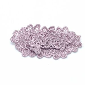 Oval Trefoil Lace Brooch B4