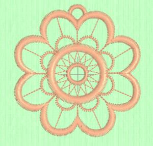 Lace ornament design