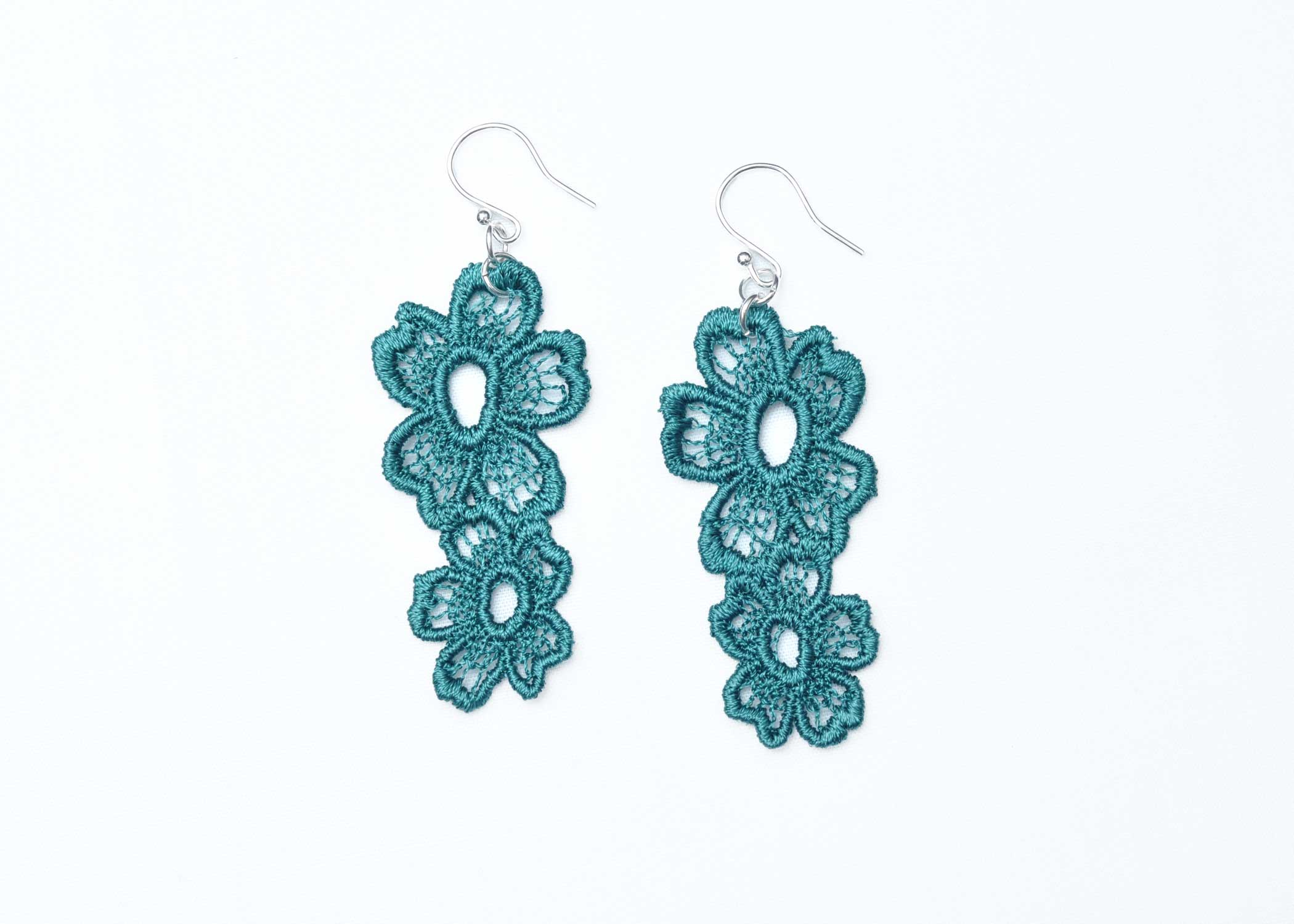 Lace-Earring-E7-Emerald