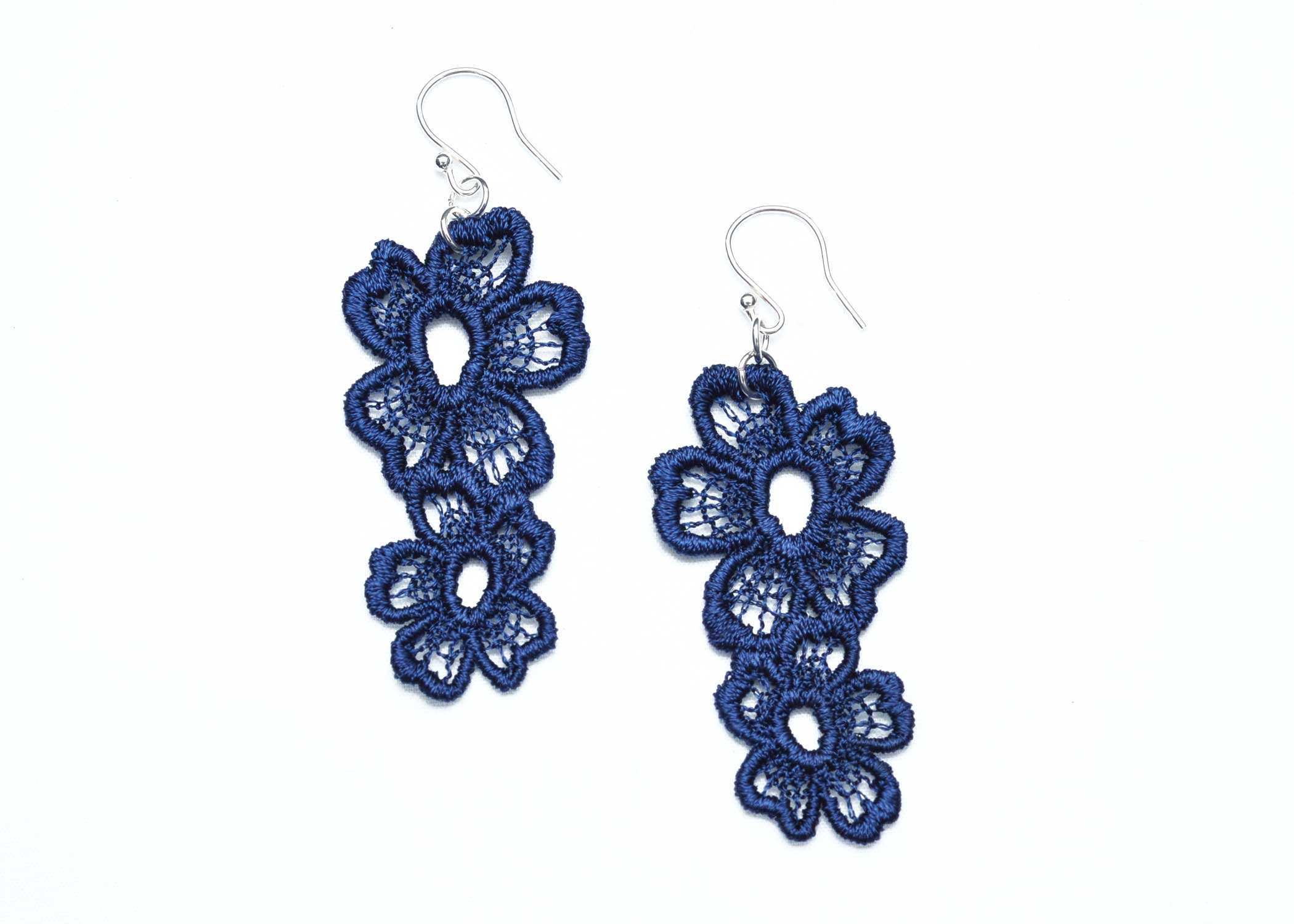 Lace-Earring-E7-Navy