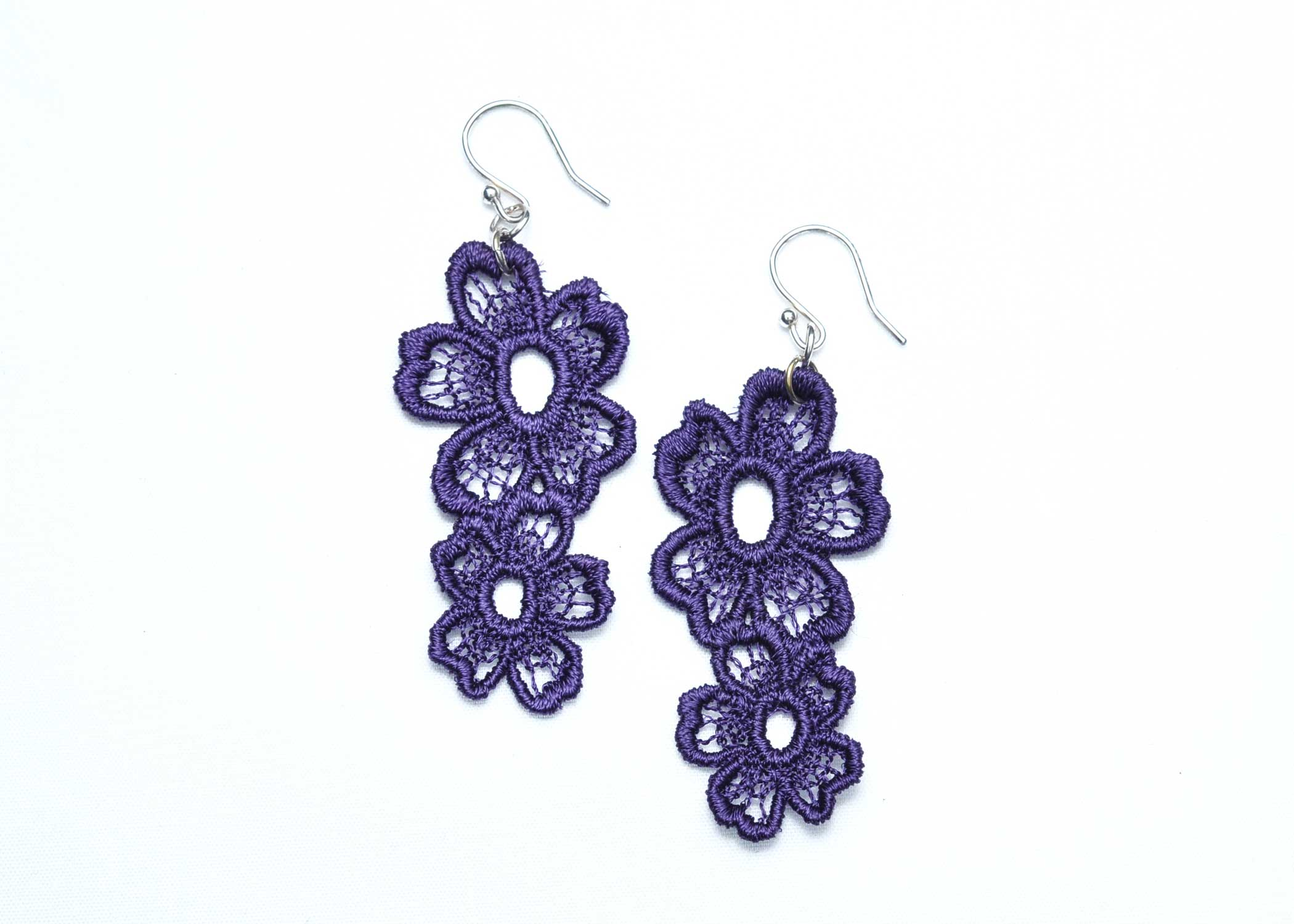 Lace-Earring-E7-Purple