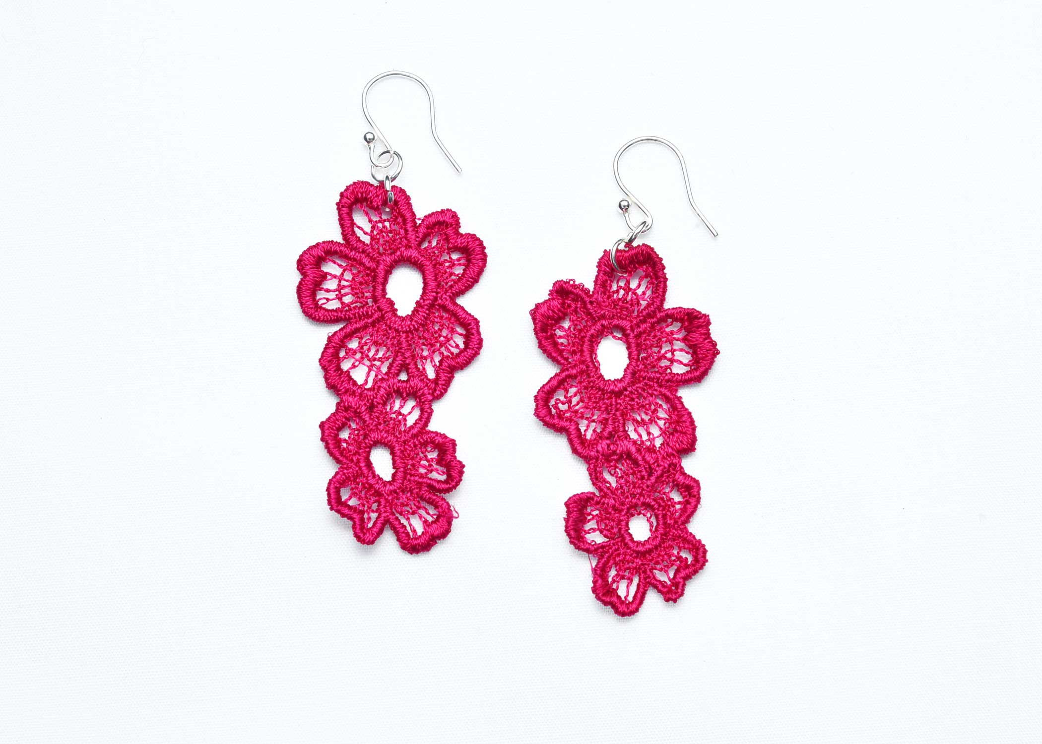 Lace-Earring-E7-Raspberry