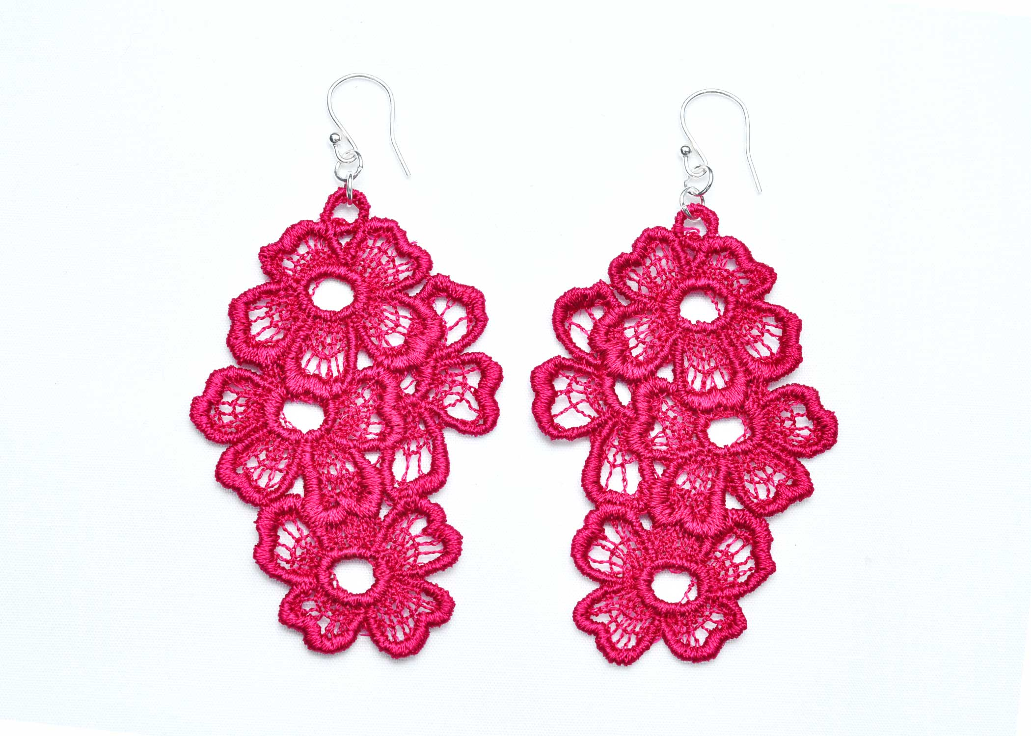 Lace-Earring-E11-Raspberry