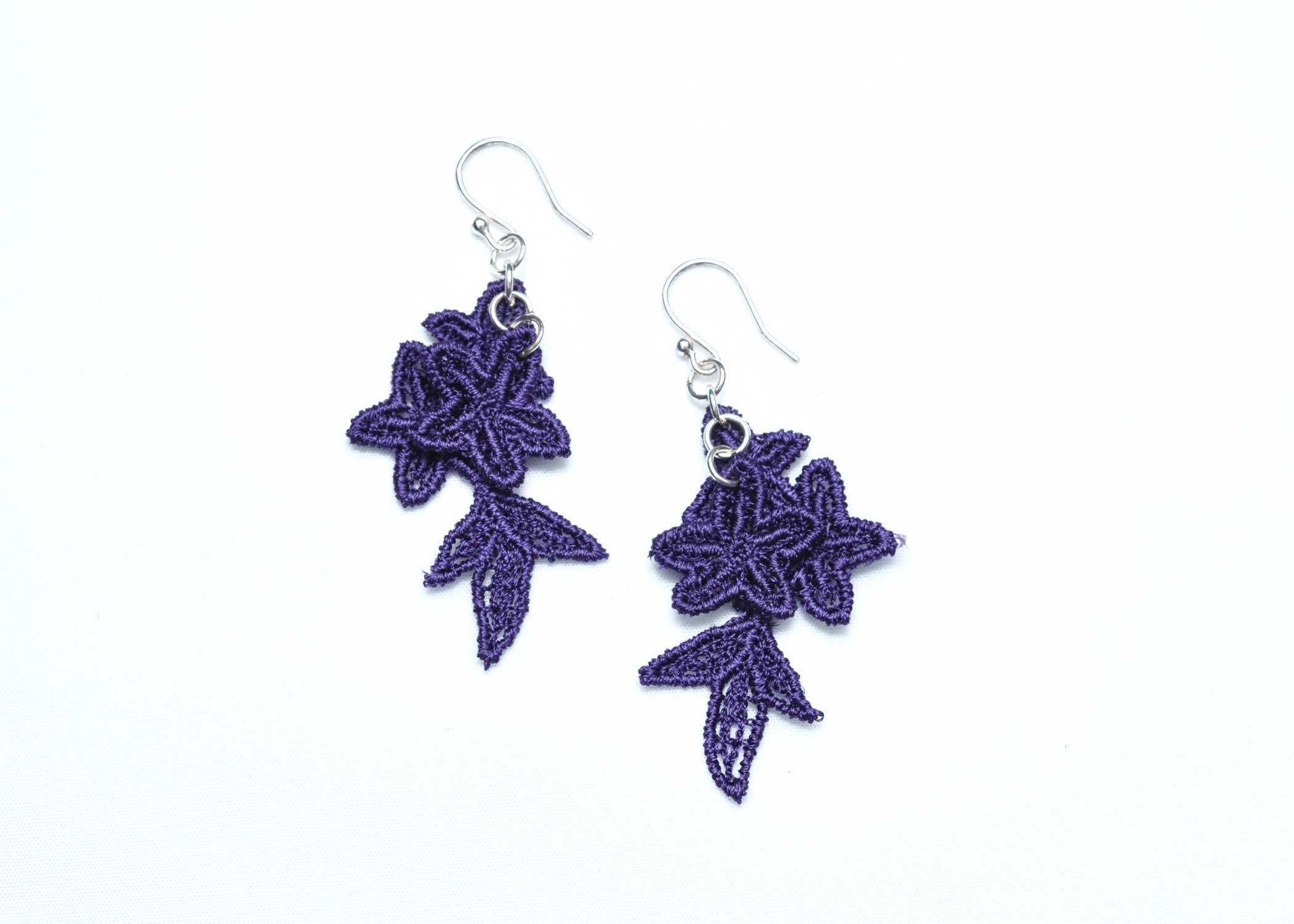 Lace-Earring-E8-Purple