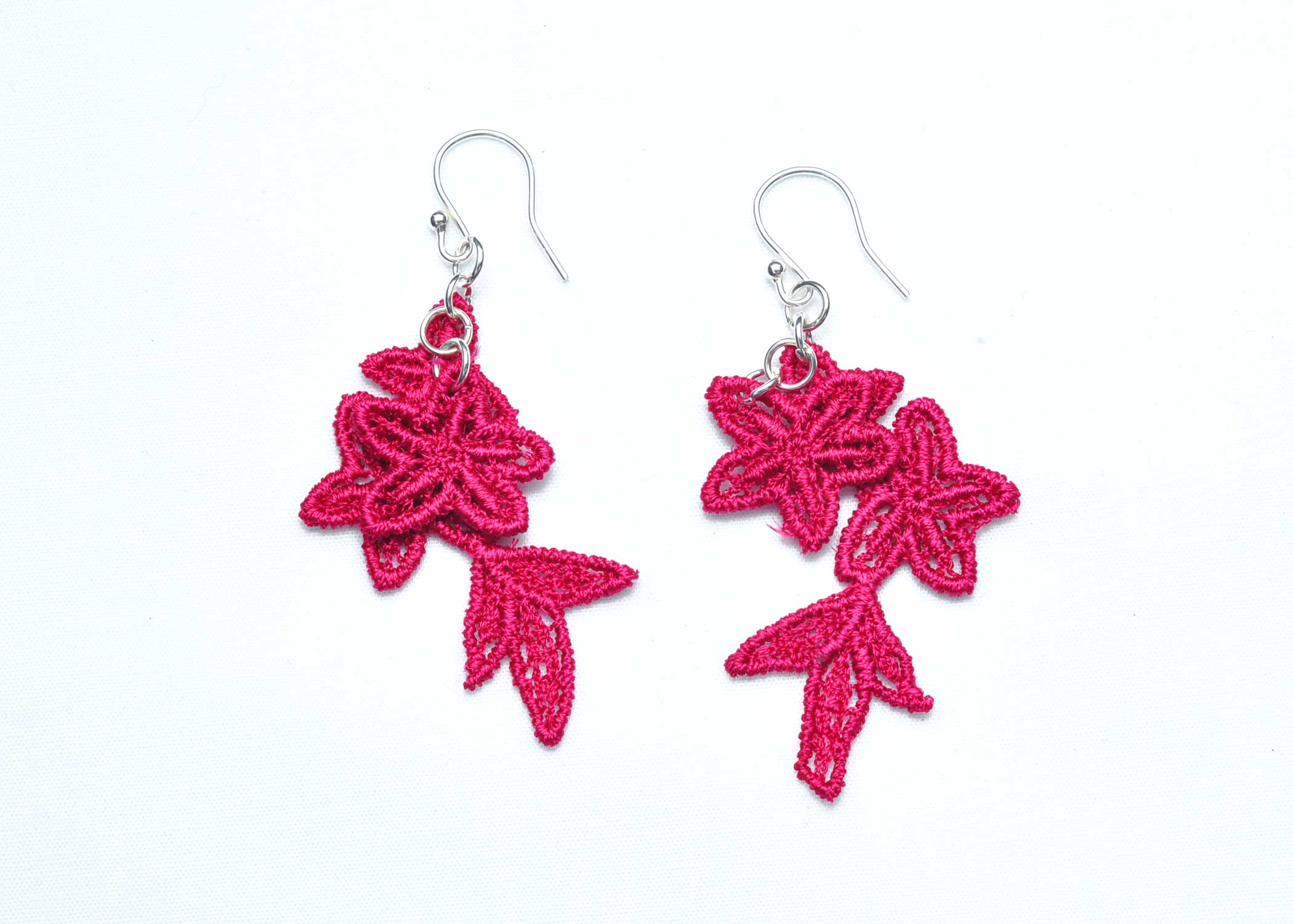 Lace-Earring-E8-Raspberry