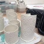 Lace and Porcelain tea light
