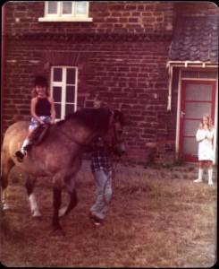 Jayne on Pony in Appleby
