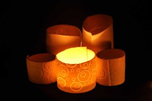 PorceLace tealights