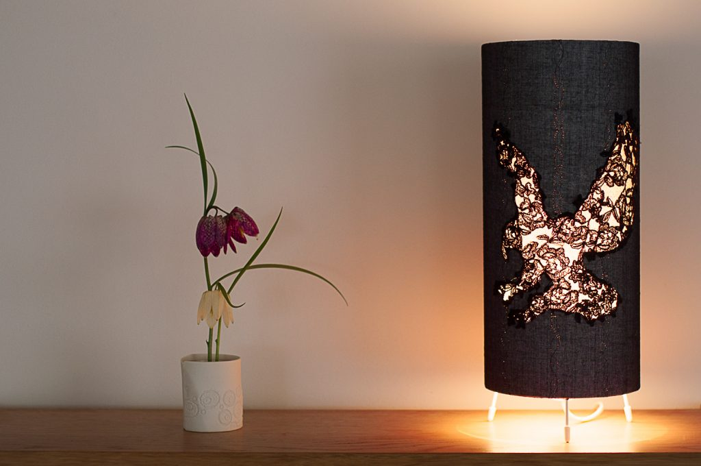 Ernhale lace lamp