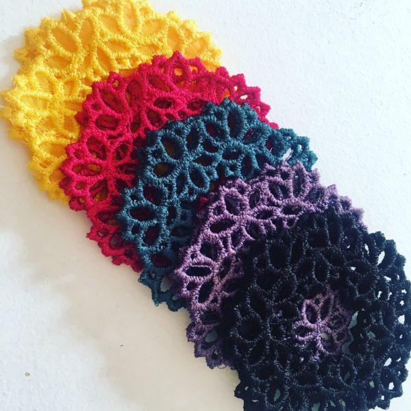 Lotus Lace Drop Earrings