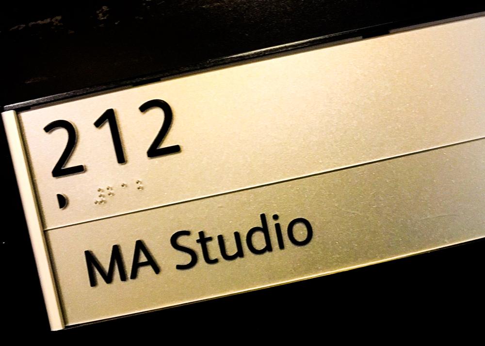 MA Studio Sign