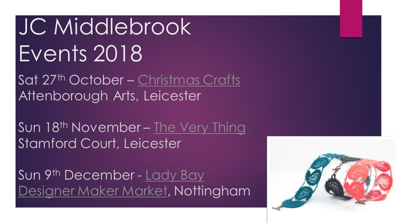 2018 event dates
