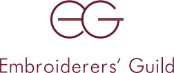 The embroiderers guild logo