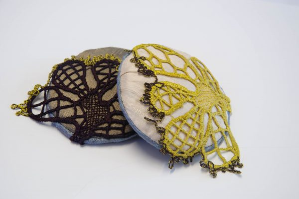 Lace Brooches