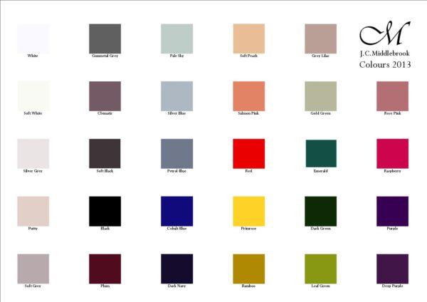 colour chart image