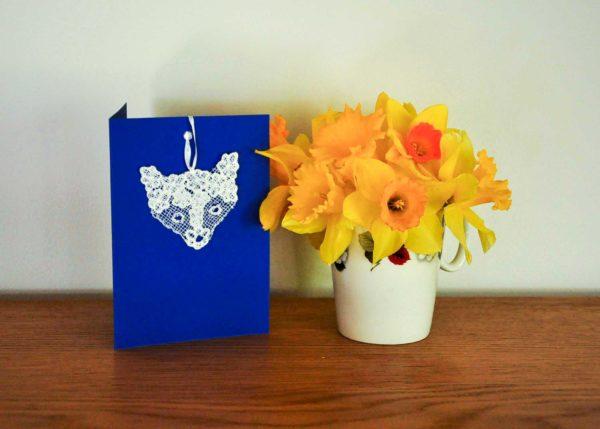 Lace-Fox-Card