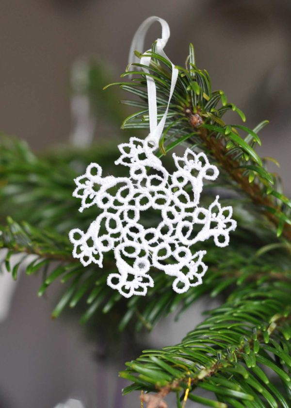 Lace Snowflake Ornament
