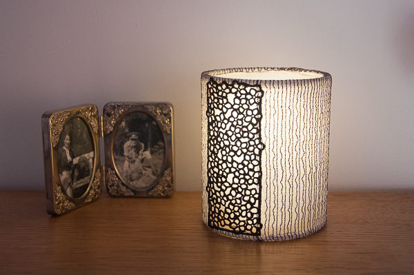 FMN Lace Lantern Lit Plum