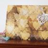 Bokeh hearts lace anniversary card